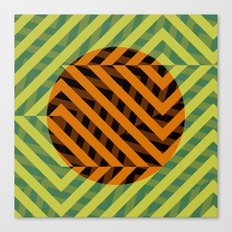 Central Geometry  Canvas Print