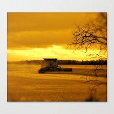 Glorious Evening Canvas Print