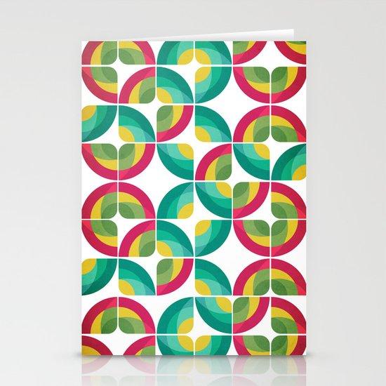 Passion Fruit Pattern Stationery Card