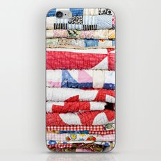 Vintage Quilts iPhone & iPod Skin