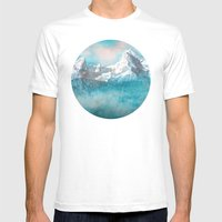 MOUNTAIN SCAPES | Watzmann Mens Fitted Tee White SMALL