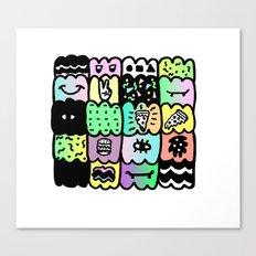 I am a  coloured pattern, pattern Canvas Print