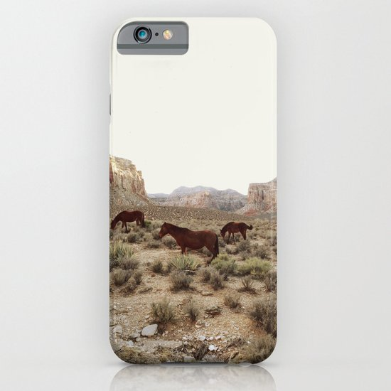 Hualapai Hilltop Horses iPhone & iPod Case