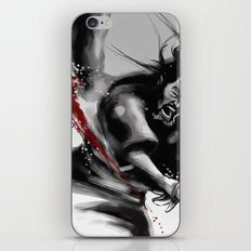 Samurai fight iPhone & iPod Skin