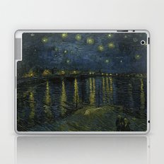 Starry Night Over the Rhone by Van Gogh Laptop & iPad Skin