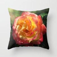 Rose 2599 Throw Pillow