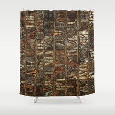 Tribal art  Shower Curtain