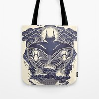 Mantra Ray Tote Bag