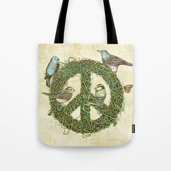 Peace Talks Tote Bag