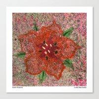 Scarlet Pimpernel Canvas Print