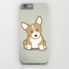 Welsh Corgi Puppy Illustration iPhone 6s Slim Case
