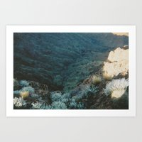 Valley Low Art Print
