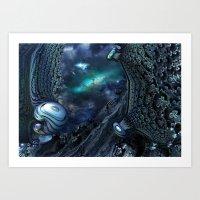 Andromeda strain Art Print