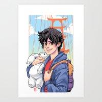 Big Hero Art Print