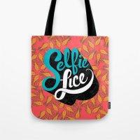 Selfie Lice Tote Bag