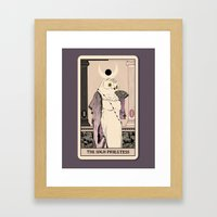 The High Priestess Framed Art Print