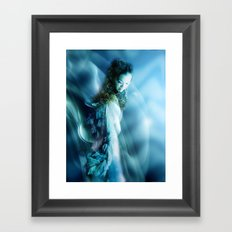 THERE MUST BE AN ANGEL ... Framed Art Print
