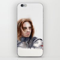 Who the hell is Bucky iPhone & iPod Skin