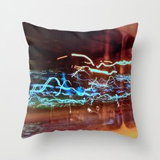 Long Exposure II Throw Pillow