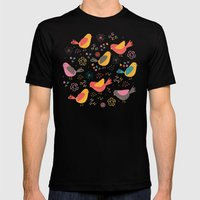 Quirky Chicks Mens Fitted Tee Black SMALL