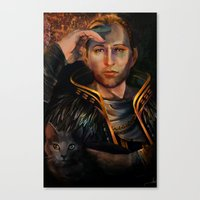 Anders Canvas Print