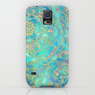 Sapphire & Jade Stained … Galaxy S5 Slim Case