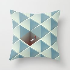 Physica Obscura Throw Pillow