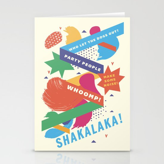Jock Jams Stationery Card
