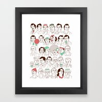 Many Murrays Framed Art Print