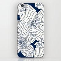 Dogwood Big Linear Flora… iPhone & iPod Skin
