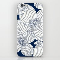 Dogwood Big Linear Flora… iPhone & iPod Skin