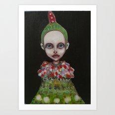 2girl Art Print