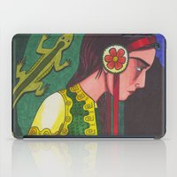 The Mistress of the Copper Mountain iPad Case