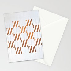 Cuadros optart Stationery Cards