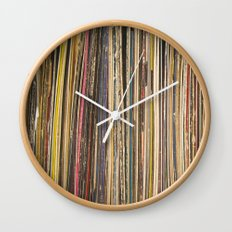 Records Wall Clock