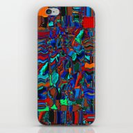 iPhone & iPod Skin featuring Abstraction by Sandy Moulder