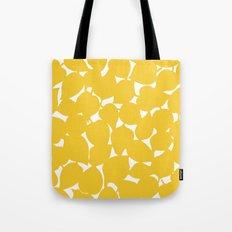 Apple Leaf: Yellow Tote Bag