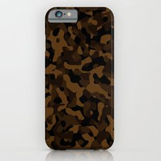 Brown Camouflage iPhone 6s Slim Case