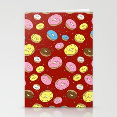 Cute Donuts Stationery Cards
