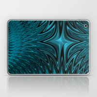 Zigzag in blue Laptop & iPad Skin
