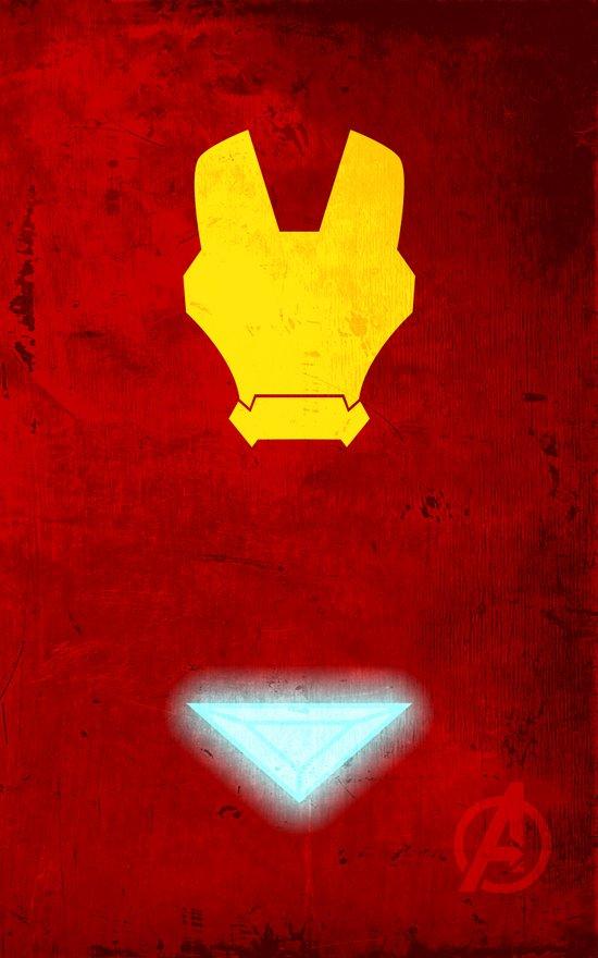 Iron Man: Avengers Movie Variant Art Print