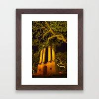 Independence Oaks Framed Art Print