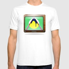 Kaleidoscope TV version B Mens Fitted Tee White SMALL