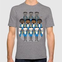 And All That Jazz Mens Fitted Tee Tri-Grey SMALL