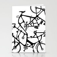 bike tuneup Stationery Cards
