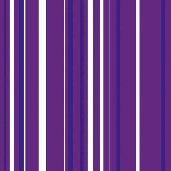 Purple Pin Stripes Canvas Print