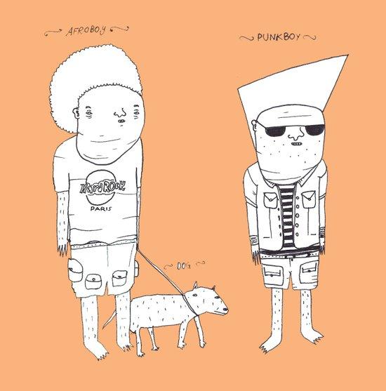Jebba characters 3 Art Print