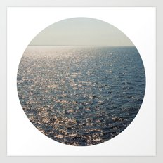 Sparkly Sea Art Print