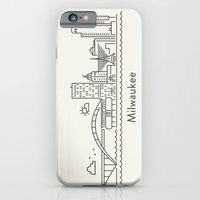 iPhone & iPod Case featuring Milwaukee by Anna Trokan