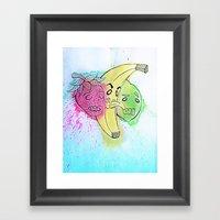 Fruit Snacks!  Framed Art Print
